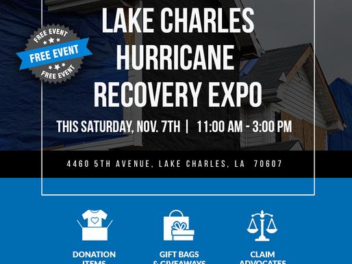 Lake Charles Hurricane Recovery Expo