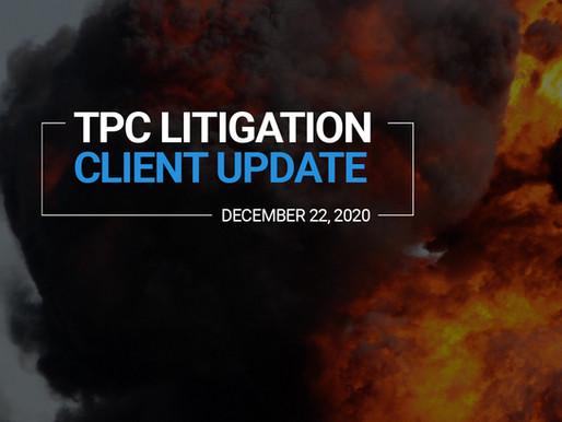TPC Explosion Litigation Client Update | December 2020