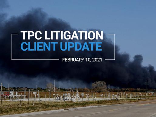 TPC Explosion Litigation Client Update | February 2021