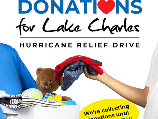 Hurricane Relief Donation Drive for Lake Charles