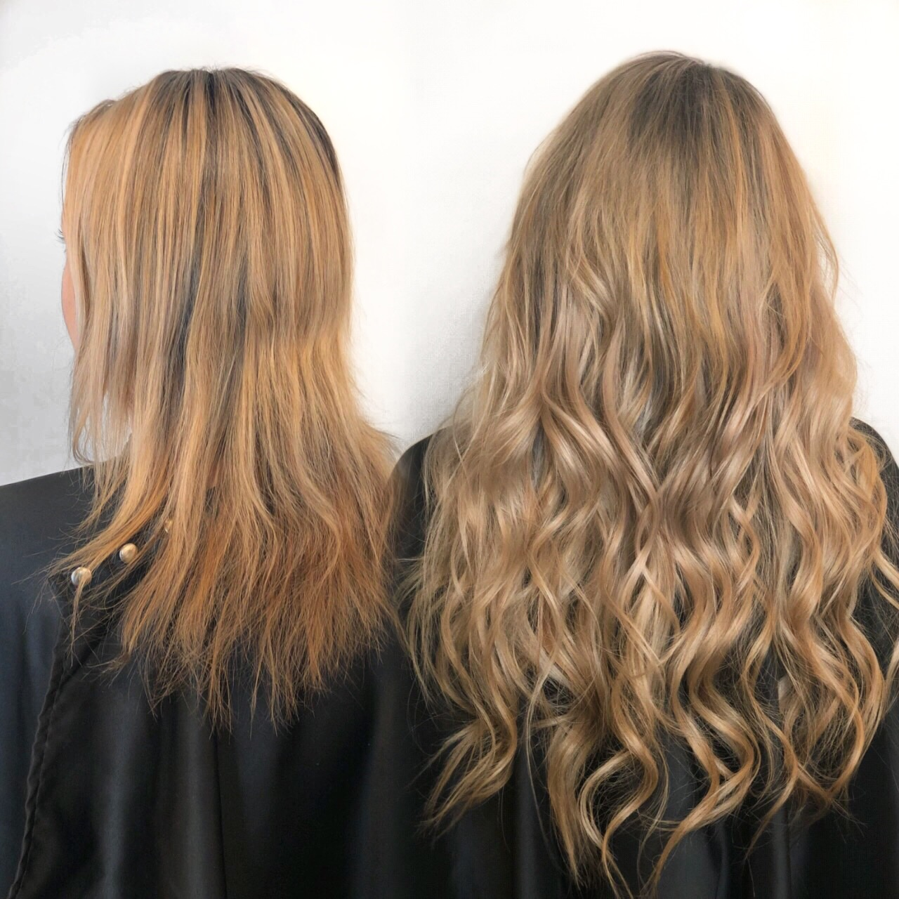 Before & After: 3 rows for length and volume