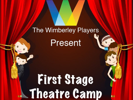 Sign up here for First Stage Theatre Camp August 9,10, & 11