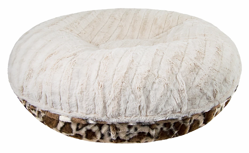 Snow Safari Bagel Bed
