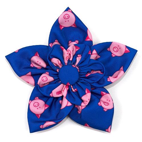 Piggy Booty Flower Tie