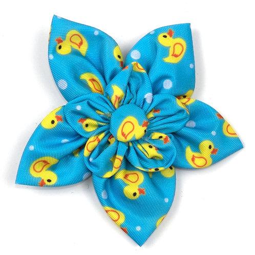 Ducky Derby Flower Tie