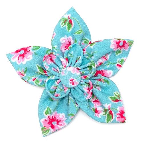 Lahaina Sunrise Flower Tie