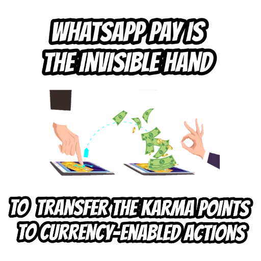 WhatsApp Pay drives the emotional economy.