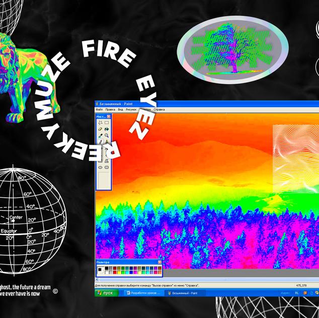 REEKYMUZE FIRE EYEZ  Photoshop 2019