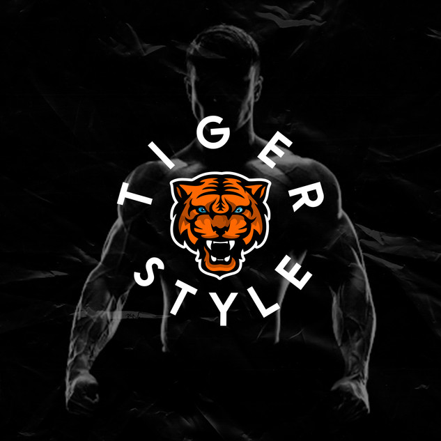 Логотип для школы workout  TIGER STYLE  2020