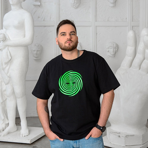 SURREAL green logo t-shirt