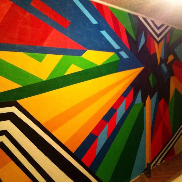 ЗАКРЫТЫЙ КОСМОС CLOSED CPACE  Spray art 2015