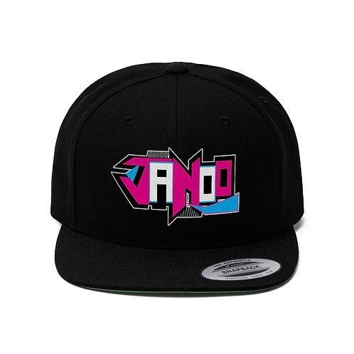 Janoo Flat Bill Hat