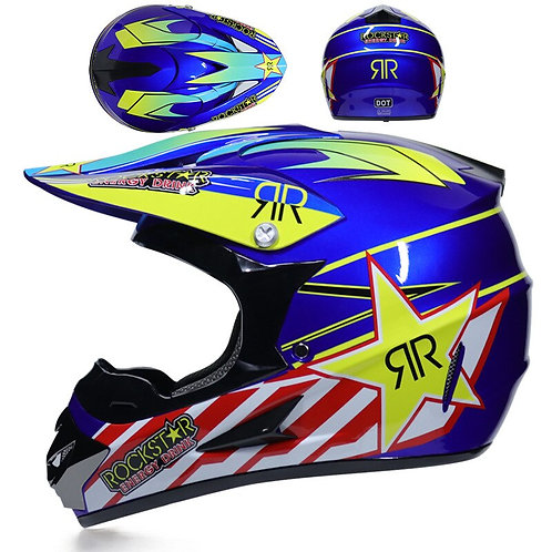 Rockstar MX Helmet