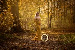 zwangerschap fotoshoot buiten gouda