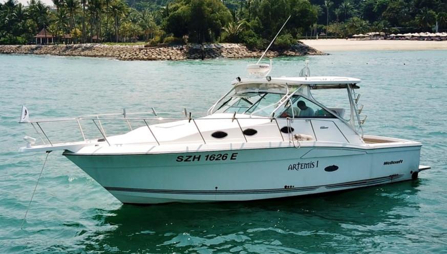 Singapore Fishing Charter - Artemis