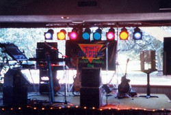 Facebook - Two Steppin' Country Duo Stage Setup