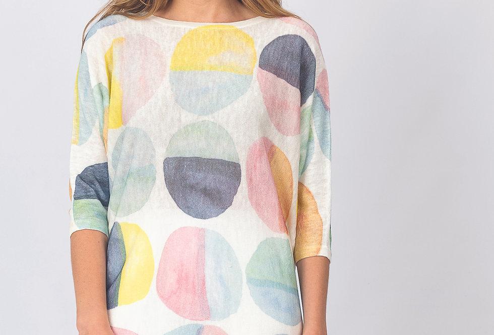 Renoma cotton linen knit