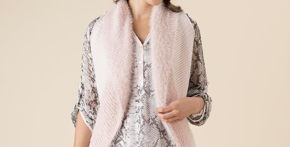 Threadz - Faux fur vest