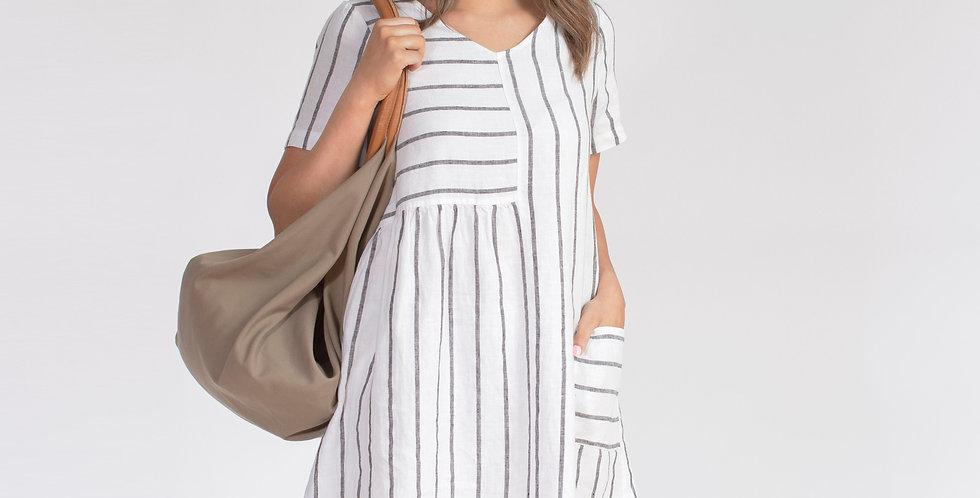 Jump Linen dress 486J5059A