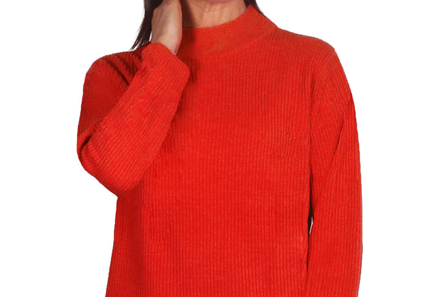 Jillian - Ribbed knit - Turtle neck jumper - 8 colours available