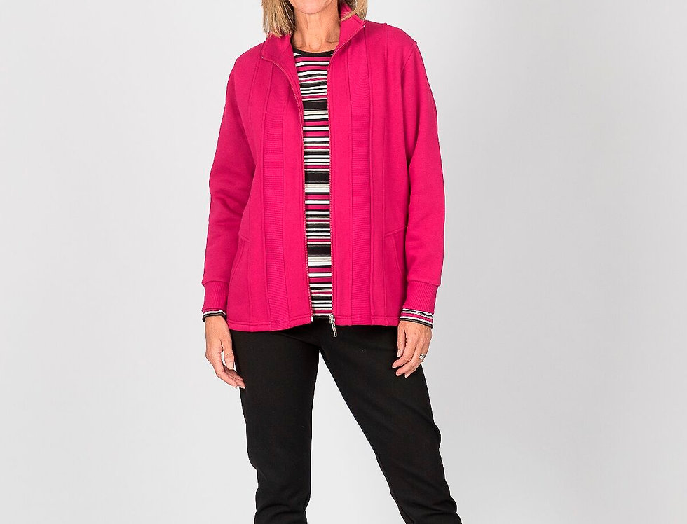Renoma - Zip though jacket - plain front with pockets