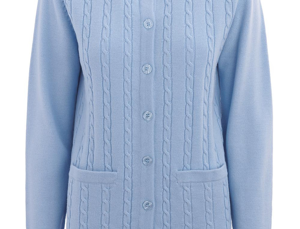 Slade - Button to Neck Cardigan- 2 colours available