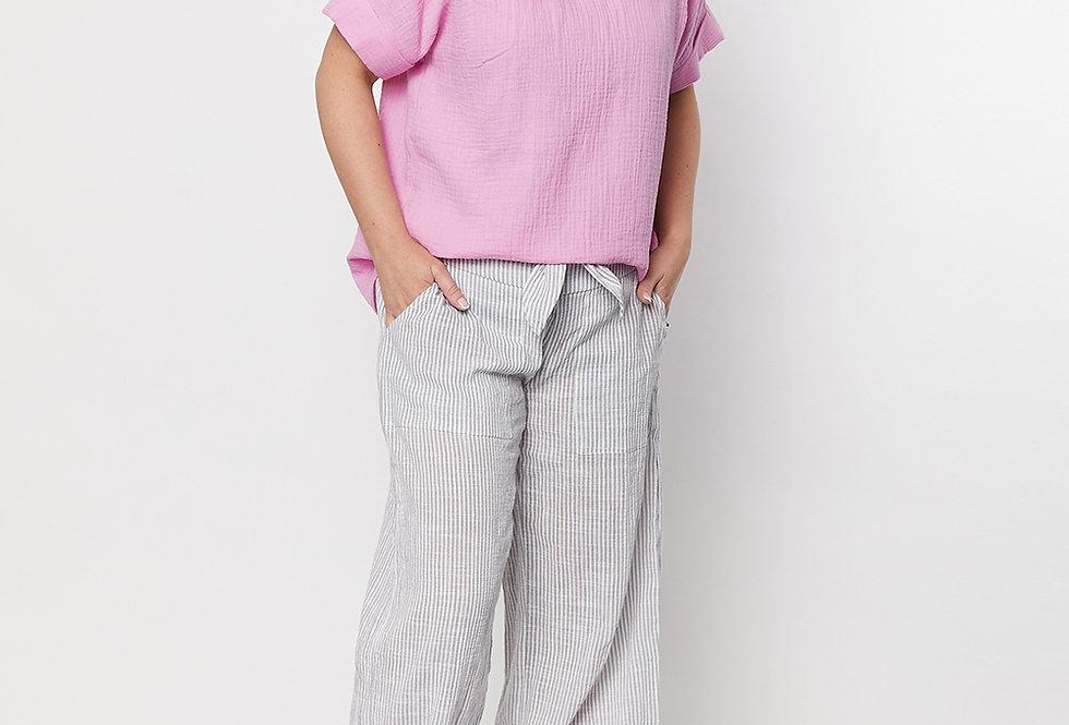 Threadz Stripe Culotte Pant
