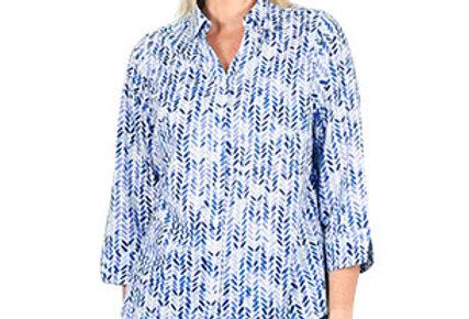 Jillian 100% cotton 3/4 sleeve shirt