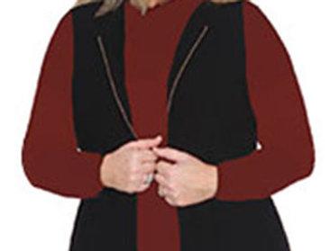 Jillian - Boiled Wool Vest