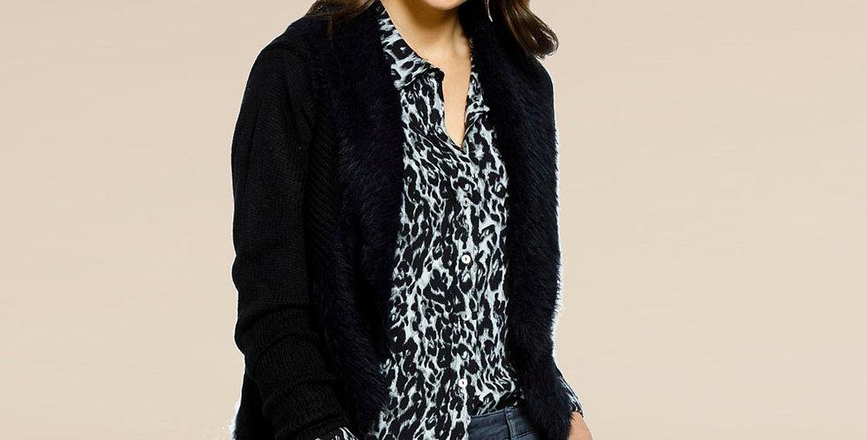 Threadz - Faux Fur Cardigan