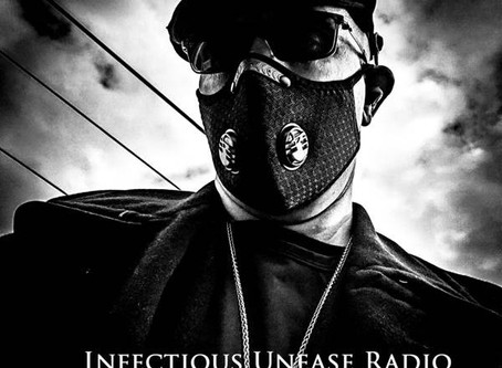 White Cauldron Appears On The July 7th Episode of Infectious Unease Radio Show