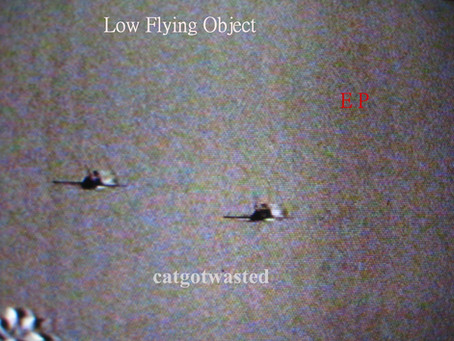 New Album! : Catgotwasted - Low Flying Object EP
