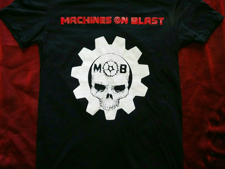 New Machines On Blast Promo Video & Merchandise