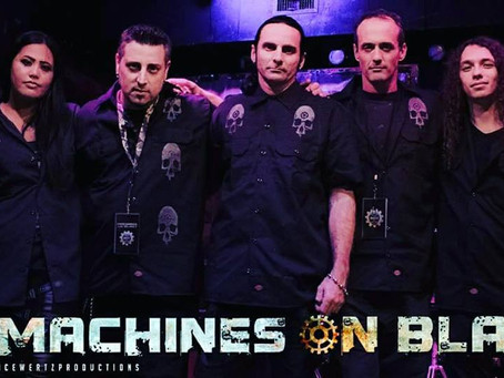 Live Show: Machines On Blast Presents Industrial Christmas Show For Charity (Sponsored by BLOODLIT R