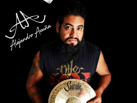 Machines On Blast Drummer Alejandro Acuña Gets An Endorsement From Soultone Cymbals!