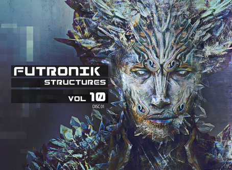 Severed Skies, Biohacker, and Divine Virtuality Appear On DSBP Record's Futronik Structures Vol. 10