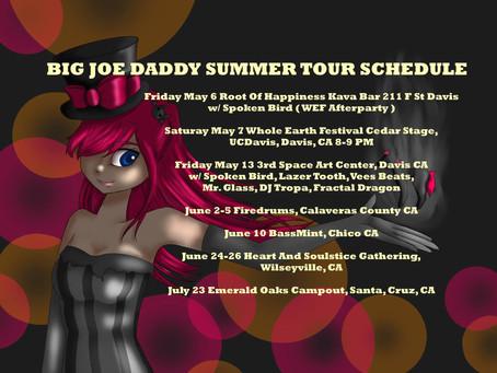 Live!: Big Joe Daddy - California Summer Tour