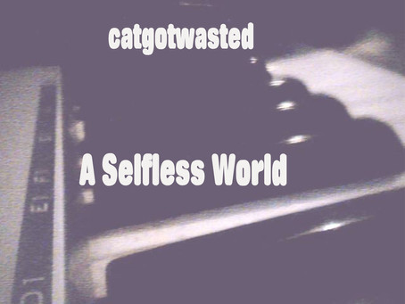 New Album! : Catgotwasted - A Selfless World