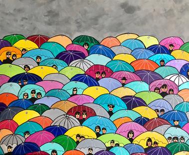 Les parapluies de Hong Kong