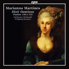 "CD-Erscheinung Salzburger Hofmusik ""Marianna Martines - Dixit Dominus"""