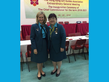What I love about volunteering with Girl Guiding in Hong Kong
