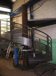 Escalier Helicoidale de chantier