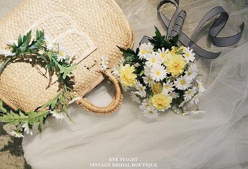 Daisy Bouquet & coronet
