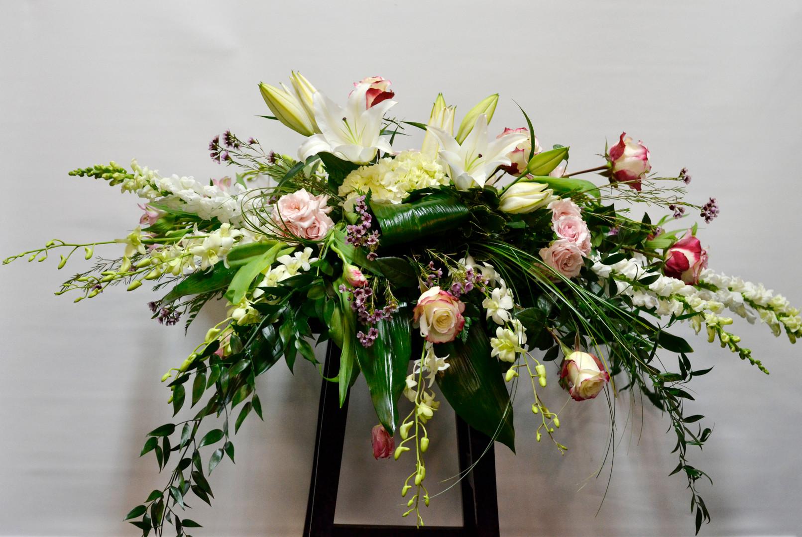Arrangement cercueil 8