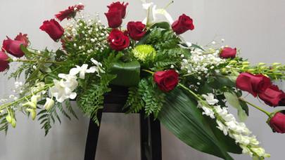 Arrangement cercueil 1