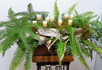 Arrangement cercueil 9