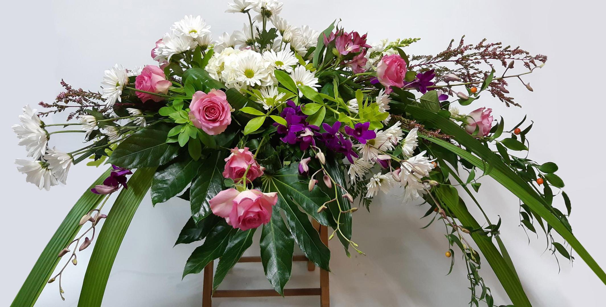 Arrangement cercueil 2