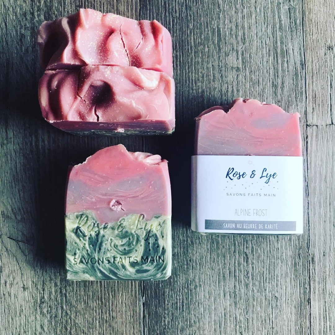 Savon - Rose & Lye
