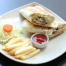 Sandwich Shawarma Chicken