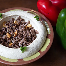 Hummus With Lamb